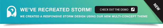 Storm WordPress - Full Screen Background Theme - 6