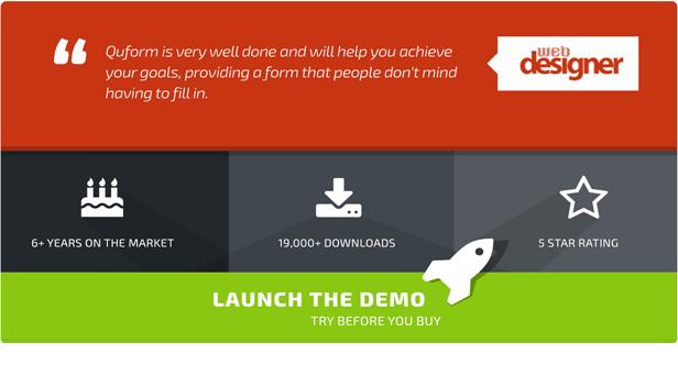 Launch the Quform 2 preview