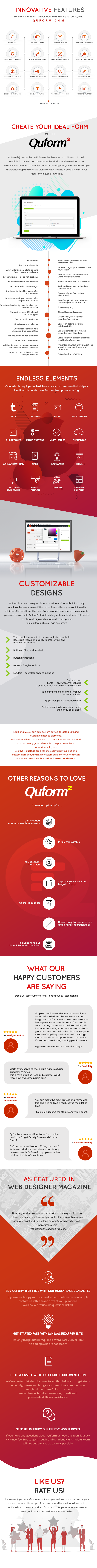 Quform 2 features list